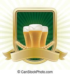 øl, formgiv element