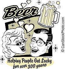 øl, kunst, hæfte