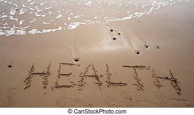 -, sand, sundhed, skrift