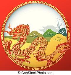 1, kinesisk drage