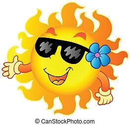 1, sommer, glade, sol