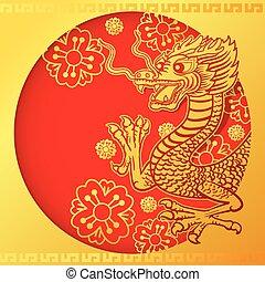 2, kinesisk drage