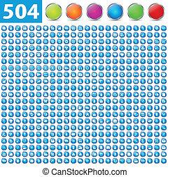 504, blanke, iconerne