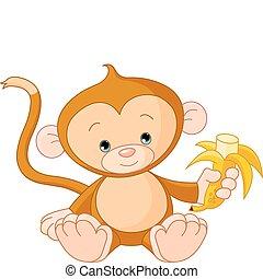 abe, baby ædt, banan
