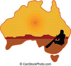 aboriginal, australien