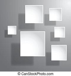 abstrakt, avis, 3, grafik