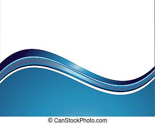 abstrakt, bølger