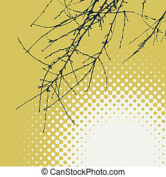abstrakt, baggrund