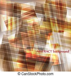 abstrakt, baggrund, konstruktion