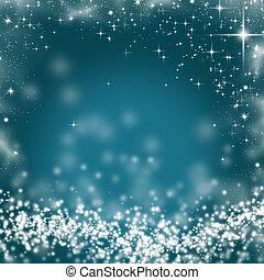 abstrakt, baggrund, lys, ferie, jul