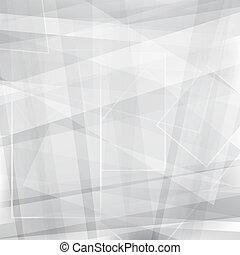 abstrakt, baggrund, vektor, gråne, konstruktion