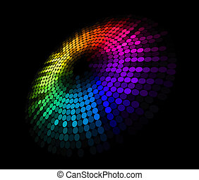 abstrakt, cirkel