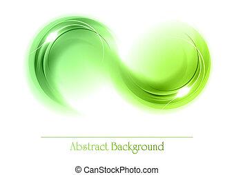abstrakt, emne, grønne