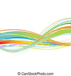 abstrakt formgiv, din, baggrund