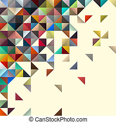 abstrakt formgiv, geometriske, baggrund