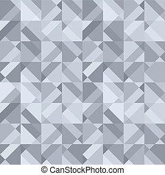 abstrakt formgiv, gråne, baggrund, geometriske