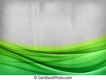 abstrakt, grønne