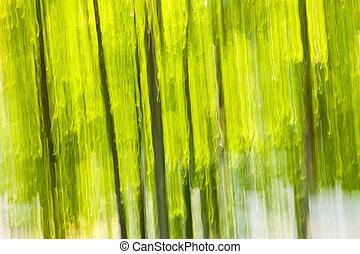 abstrakt, grønnes skov, baggrund