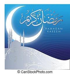 abstrakt, kareem, ramadan, fest