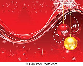 abstrakt, kunstneriske, jul