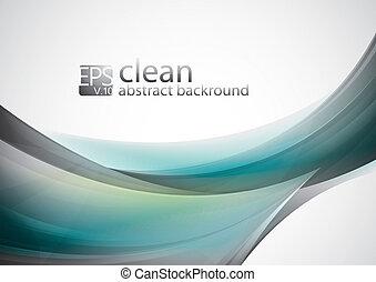 abstrakt, rense, baggrund