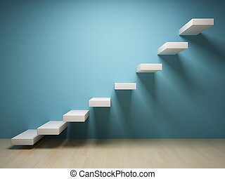 abstrakt, stair