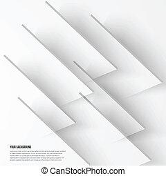 abstrakt, vektor, konstruktion, baggrund, fractal., skygge