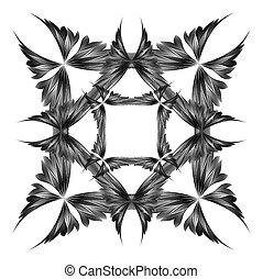 abstrakt, vektor, konstruktion