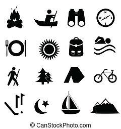 adspredelsen, leisure, iconerne