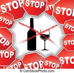 advarsel, alkohol
