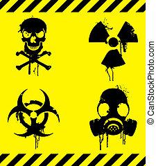 advarsel, signs.