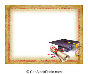 afgangsbeviset, examen, blank