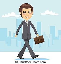 aktiv, forretningsmand, unge