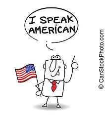 amerikaner, tal