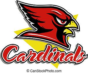 anføreren, kardinal, mascot