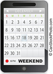 ansøgning, kalender