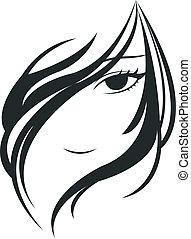 ansigt kvinde