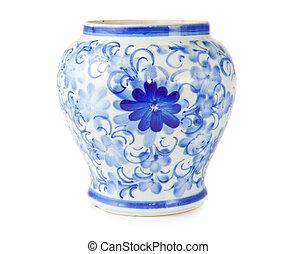 antik, kinesisk, vase