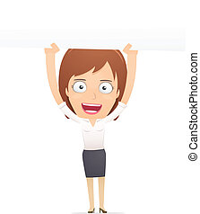 anvendelse, driftsleder, dialogs, characters., anden, pige, suitable