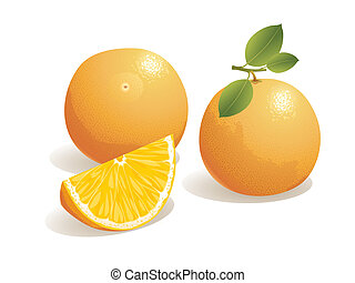 appelsin, frugt