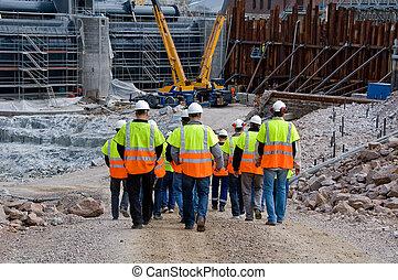 arbejdere, konstruktion