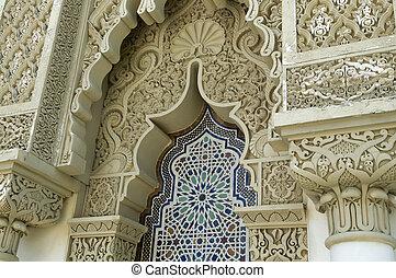 arkitektur, moroccan