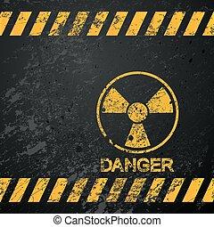 atomar, advarsel, fare