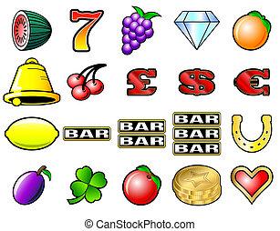 automaten, symboler