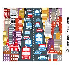 automobil trafik
