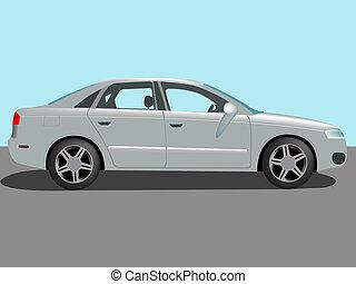 automobil, vektor