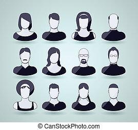 avatar, iconerne