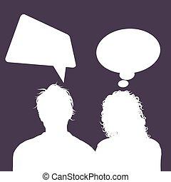 avatars, 1503, tale, kvindelig, bobler, mandlig
