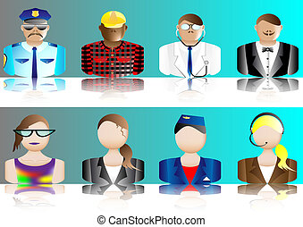 avatars, erhverv