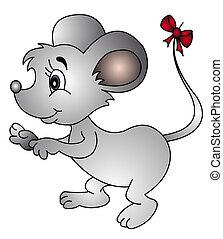 bøje sig, hale, mus